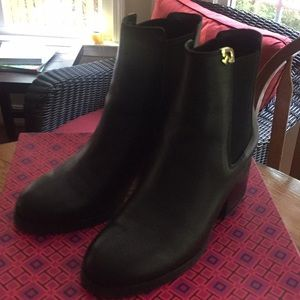 Tory Burch Black Bootie - Gently Used 6.5